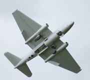 Реактивный самолет Канберра холодной войны Стоковое Изображение RF