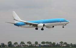 Реактивный самолет приходя внутри для приземляться Стоковое Изображение