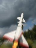 реактивный снаряд воздушных судн anti Стоковая Фотография RF