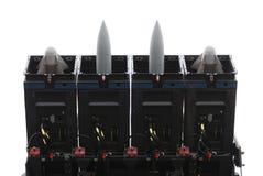 реактивный снаряд пусковой установки стоковая фотография rf