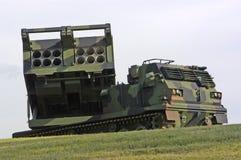 реактивный снаряд пусковой установки Стоковое Изображение RF