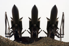 Реактивный снаряд system-1 Военно-воздушных сил Kub-M Стоковое Изображение RF