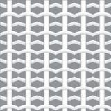 Реалистическая сплетенная картина волокна безшовная с тенями Белая геометрическая безшовная картина абстрактная предпосылка векто бесплатная иллюстрация