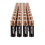 Реалистические батареи вектора Стоковая Фотография RF