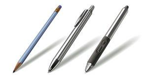 реалистические инструменты комплекта бесплатная иллюстрация