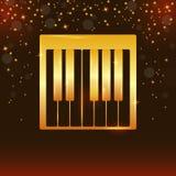 Реалистические ключи рояля Дизайн рояля, сеть, искусство рояля, приложение, предпосылка рояля, ключи рояля, предпосылка музыки r бесплатная иллюстрация