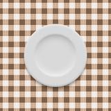 Реалистический вектор плиты Стоковое Фото