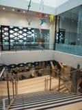Реальная библиотека, учить и культурный центр в Ringwood в восточных пригородах Мельбурна Стоковое Изображение