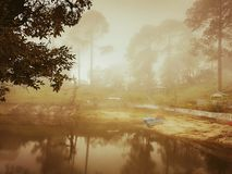 Реальное отражение nature& x27; красота s стоковая фотография