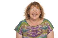 Реальной постаретая серединой серия портрета женщины Стоковые Фотографии RF
