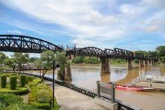 Реальный мост на реке Kwai Стоковые Фотографии RF