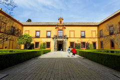 Реальный Alcazar в Севилье, Андалусии Стоковая Фотография RF