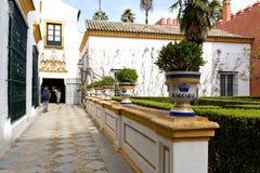 Реальный Alcazar в Севилье, Андалусии Стоковое Изображение