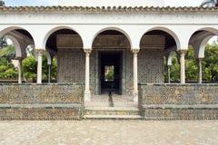 Реальный Alcazar в Севилье, Андалусии Стоковое фото RF