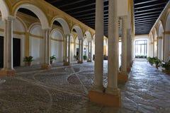 Реальный Alcazar в Севилье, Андалусии Стоковые Фото