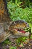 Реалистическая голова динозавра Стоковое Изображение