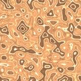 Реалистическая жидкостная рефлексивная текстура Стоковое Изображение