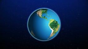 Реалистическая земля планеты от космоса бесплатная иллюстрация