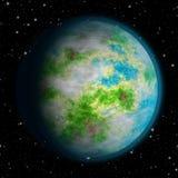 Реалистическая земля любит текстура планеты Стоковая Фотография