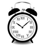 Реалистическая иллюстрация вектора настенных часов Стоковое фото RF