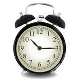 Реалистическая иллюстрация вектора настенных часов Стоковые Фото