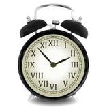 Реалистическая иллюстрация вектора настенных часов Стоковая Фотография