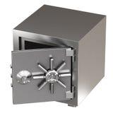 Реалистическая открытая безопасная коробка Стоковое фото RF