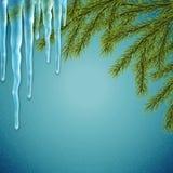 Реалистическая предпосылка рождества Стоковые Фотографии RF
