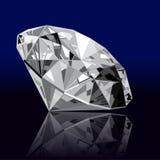 Реалистическая драгоценная камень диаманта Стоковое Фото