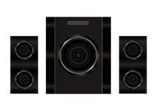 Реалистические дикторы аудио иллюстрации Стоковая Фотография RF