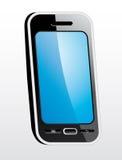 Лоснистый умный телефон Стоковое Фото