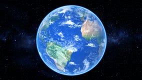 Реалистическое видео земли бесплатная иллюстрация