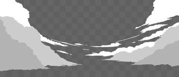 Реалистическое собрание облаков Стоковая Фотография RF