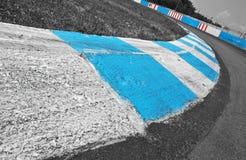 Реальное фото следа скорости Стоковая Фотография RF