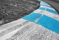 Реальное фото следа скорости Стоковые Изображения RF