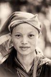 Реальные люди в Вьетнаме (черно-белом) Стоковое фото RF