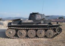 Реальный немецкий танк Стоковое Изображение RF