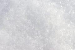 Реальный снег для предпосылки Стоковые Изображения RF