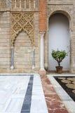 Реальный Alcazar в Севилье, Андалусии Стоковые Изображения