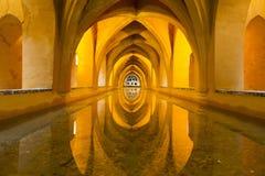 Реальный Alcazar в Севилье, Андалусии Стоковые Изображения RF