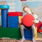 Ребенк в детском саде Стоковое Фото