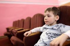 Ребенк в театре Стоковые Изображения