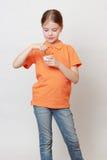 Ребенк и еда Стоковая Фотография RF