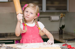 Ребенк с вращающей осью Стоковые Изображения RF