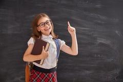Ребенк учит в классе Стоковые Изображения RF