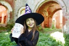 Ребенк хеллоуина Стоковые Изображения RF
