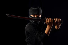 Ребенк Ninja стоковое фото