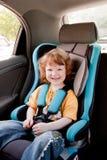 ребенок автомобиля Стоковая Фотография
