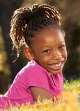 ребенок афроамериканца счастливый Стоковые Фотографии RF