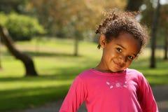 ребенок афроамериканца Стоковая Фотография RF
